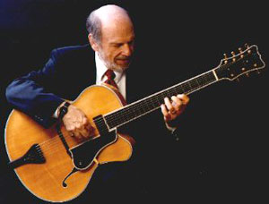 Howard with Foster Archtop